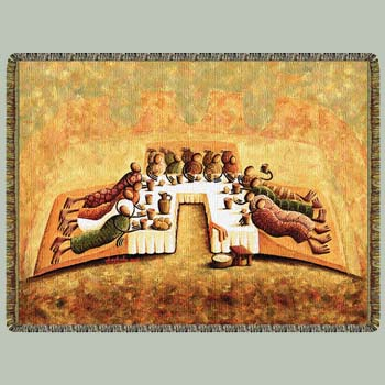Looking for last supper crochet pattern.? - Yahoo! Answers