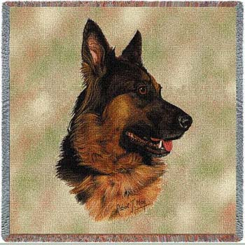 german shepherd blanket german shepherd dog tapestry lap square throw blanket 4708